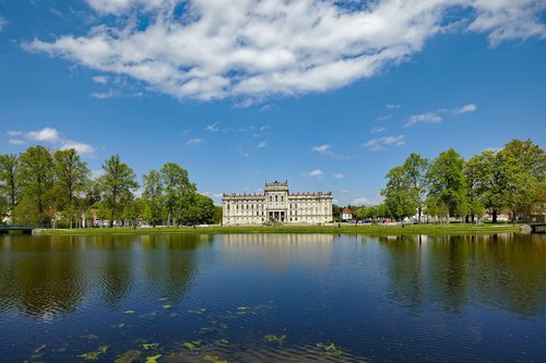 ludwigslust-parchim  castle  mecklenburg western pomerania