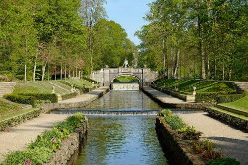 ludwigslust-parchim  schlossgarten  castle park