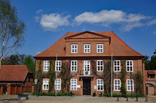 ludwigslust-parchim  town hall  mecklenburg western pomerania