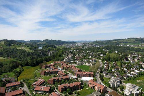 luftaufnahme schweiz landschaft