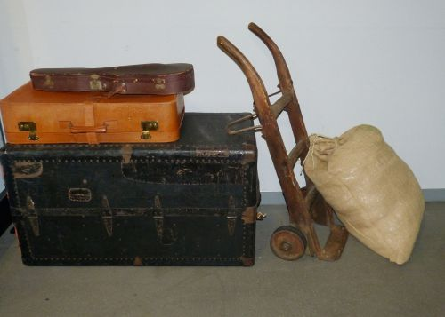 luggage cart sack truck