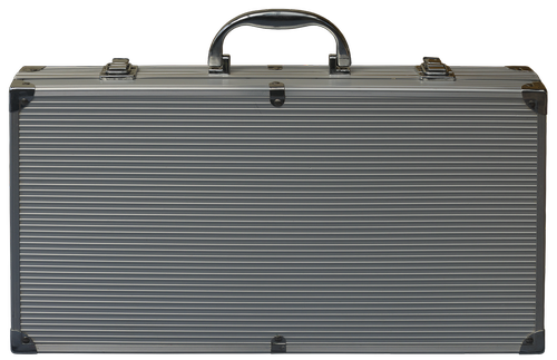 luggage  aluminium case  briefcase