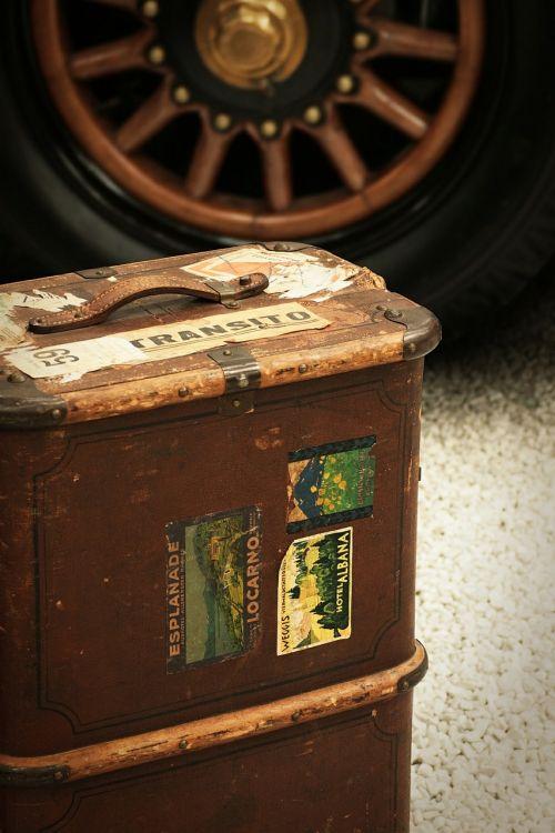 luggage travel retro
