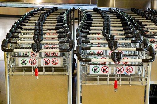 luggage cart  caddie  caddy