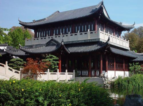 luisenpark mannheim tea house