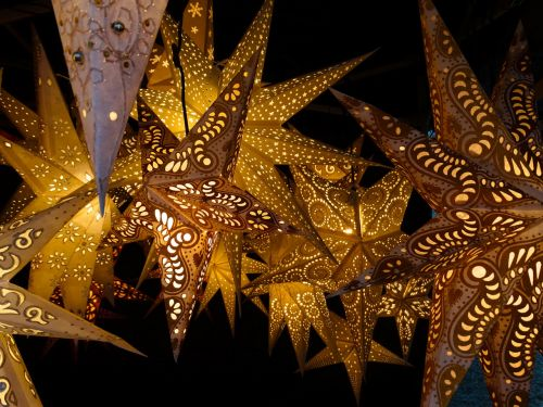 luminous stars star decoration