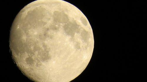 luna moon night