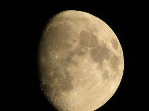 luna sky night