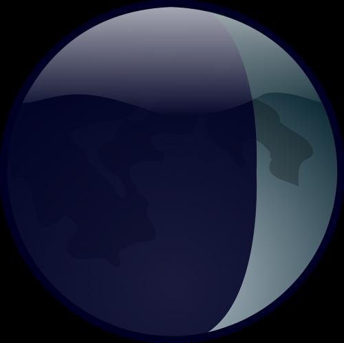 lunar moon earth