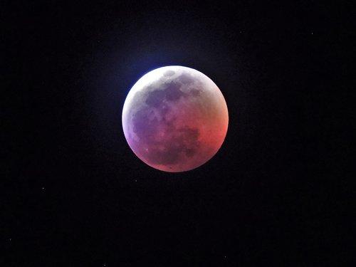 lunar  eclipse  moon