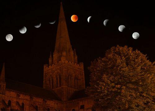 lunar eclipse moon lunar