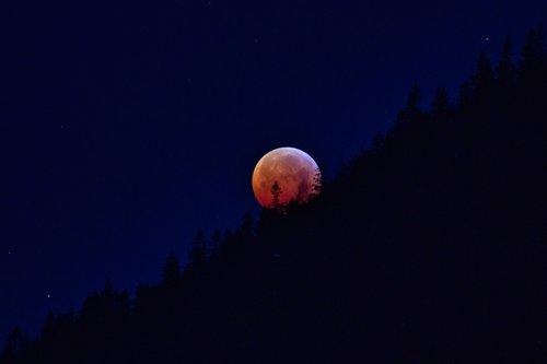 lunar eclipse  super moon  blood moon