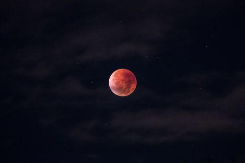 lunar eclipse blood moon moon