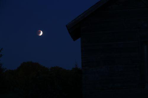 Lunar Eclipse Farm Granary