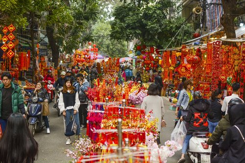lunar new year  red  normal life
