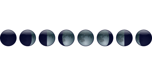 lunar phase moon lunar