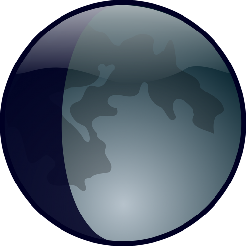 lunar phase moon earth