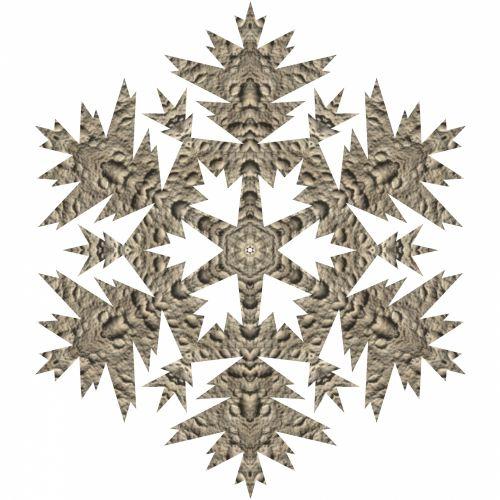 Lunar Snowflake