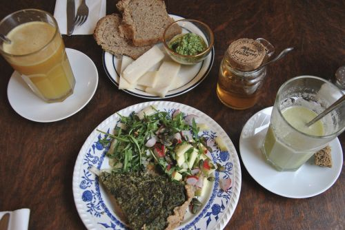 lunch vegetarian vegetables
