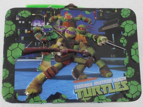 lunchbox tin ninja turtles