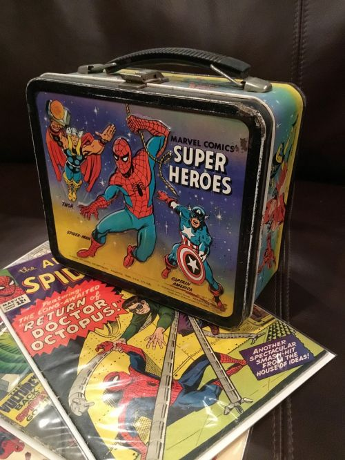 lunchbox superhero spiderman