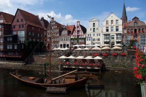 lüneburg ilmenau barge to transport salt