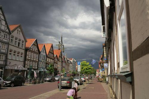 lüneburg thunderstorm clouds