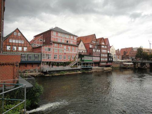 lüneburg old town water