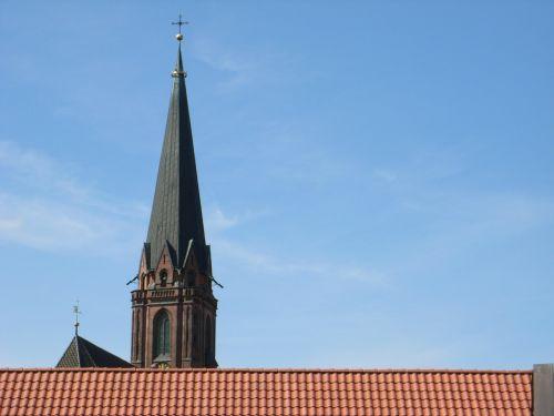 lüneburg roofs church