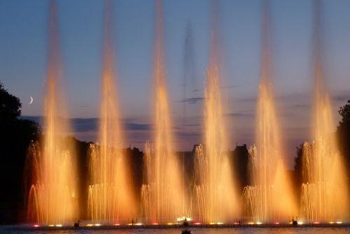 lunéville water jets light
