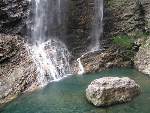 lushan falls water