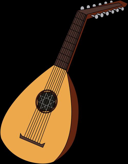 lute mandolin music