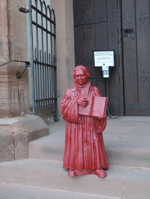 liuteris,bažnyčia,statula,liuterio metai,protestantas