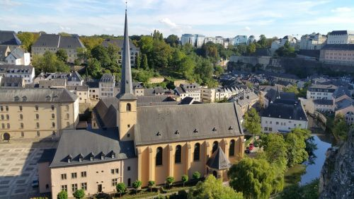 luxembourg luxembourg city neumünster abbey