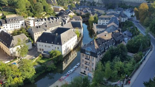 luxembourg luxembourg city landscape