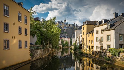 luxembourg basic old town