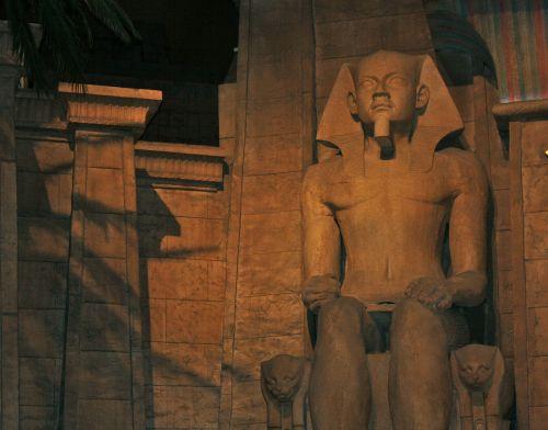 luxor,Las Vegasas,pharaonic,luxor egypt,Habu šventykla,kazino vaizdas,šventyklos figūra