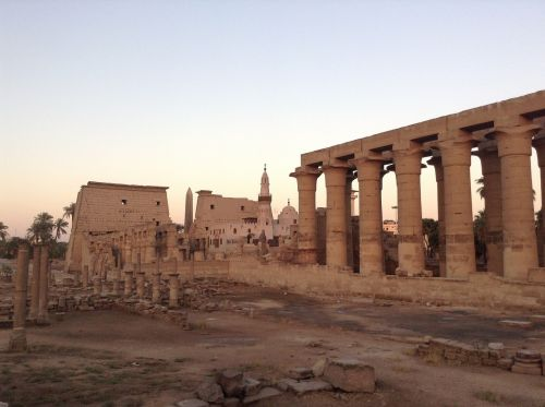 luxor temple landmark egypt