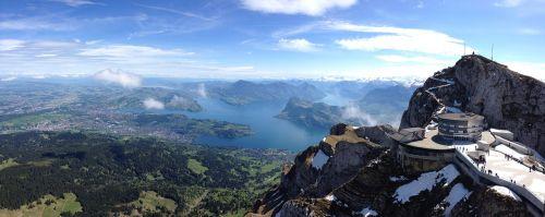 luzern vierwaldstaedter see panorama