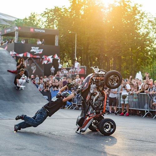 luzhniki  quad bike  festival