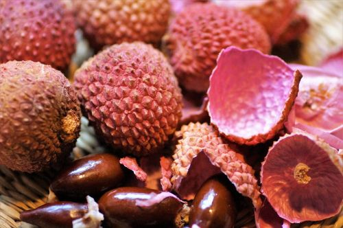 lychee exotic fruit