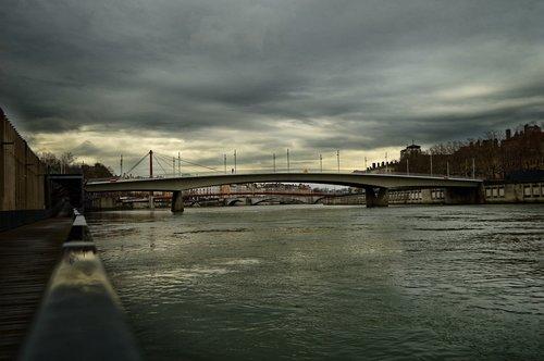 lyon  rhône  river