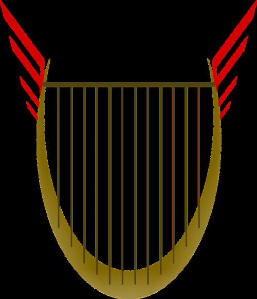 lyre string instrument