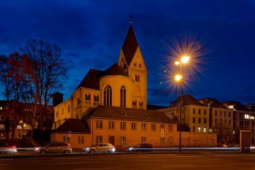 lyskirche cologne rhine river