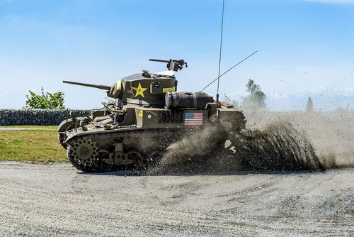 m3a1 stuart  tank fest  everett