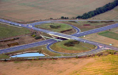 m60 motorway highway 58 intersection