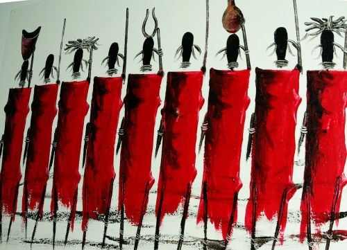 maasai africa warriors