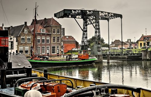 maassluis the kolk drawbridge