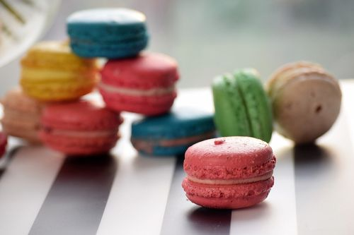 macarons cookies sweet
