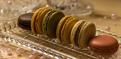 macarons  cookies  pastries